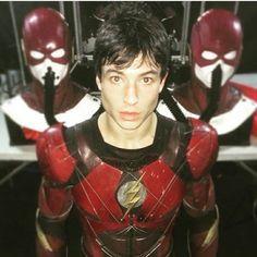What's your opinion on Ezra Miller as the flash? I think he's really enjoyable to watch and brings humour and provides comic relief to the league. #flash #theflash #ezramiller #scarletspeedster #thefastestmanalive #speedster #speedforce #barryallen #ezramiller #cw #cwtheflash #grantgustin #arrowverse #justiceleague #batmanvsuperman #doomsday #darkseid #steppenwolf #zoom #professorzoom #reverseflash #batman #superman #aquaman #wonderwoman #cybrog #dceu #dccomics #dcextendeduniverse