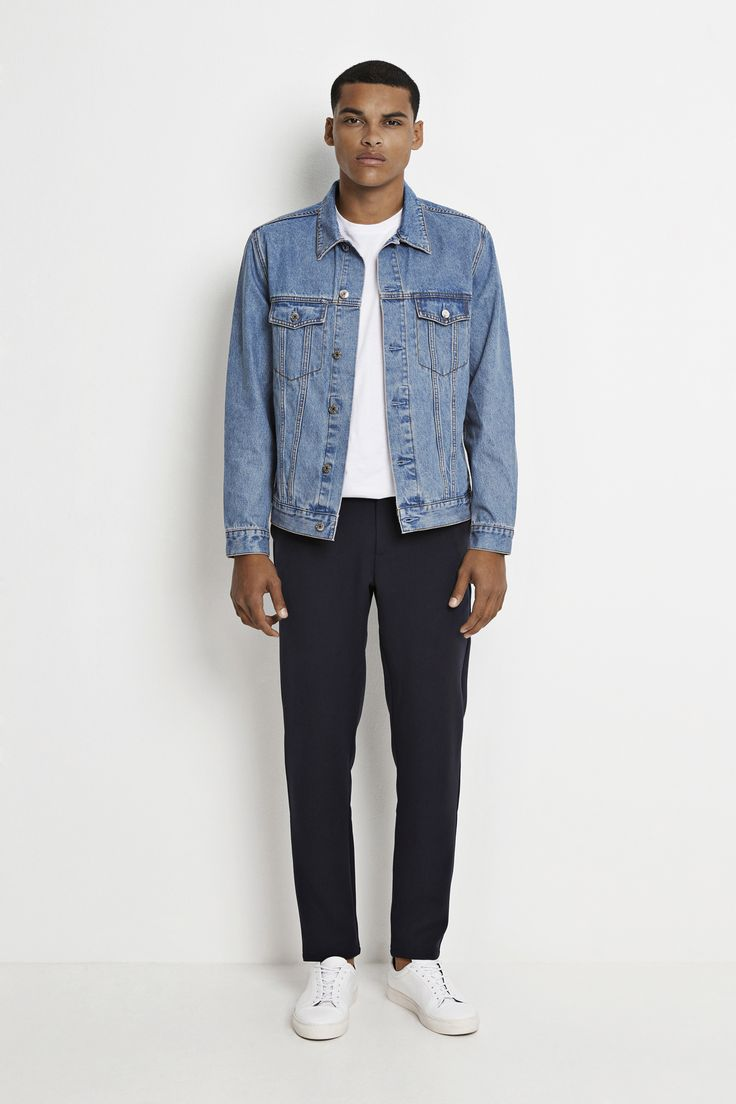 Dakota Jacket 500 light blue! Find it online and in stores now! #wearecph #ss17 #copenhagen #streetwear #mensfashion #menswear #streetstyle #ootd