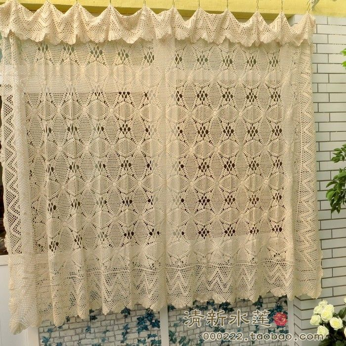 29 Best Crochet Kitchen Curtains Images On Pinterest