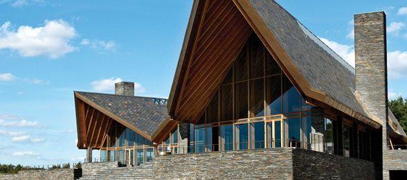 Scandinavian Golf Club by Henning Larsen Architects.