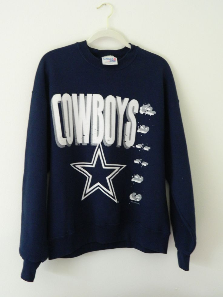 Vintage Dallas Cowboys Sweatshirt // 1996 Cowboys Sweatshirt by GreenBayGal on Etsy