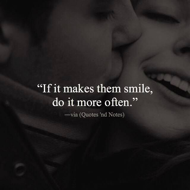 If it makes them smile do it more often. via (http://ift.tt/2cZAsn2)