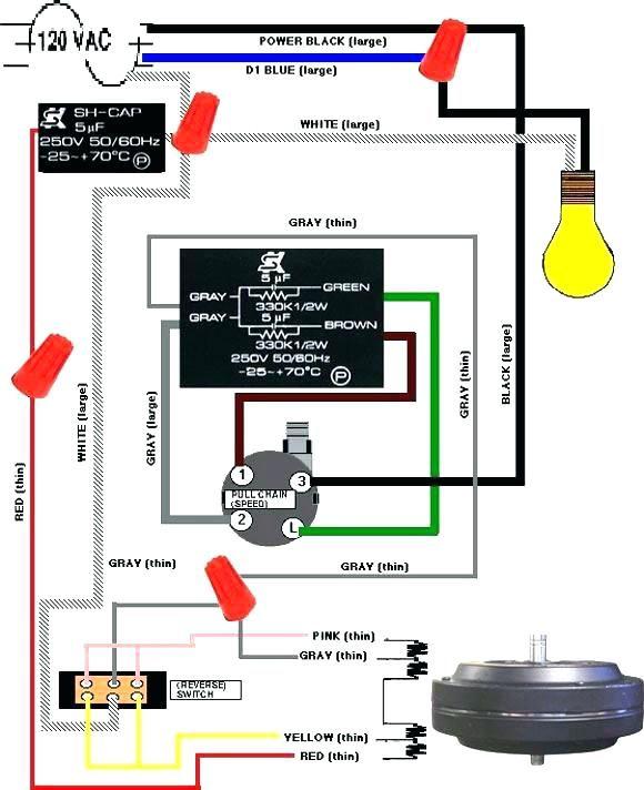 Hampton Bay Ceiling Fan Wiring Diagram : hampton, ceiling, wiring, diagram, Wiring, Diagram, Switch, Ceiling, Bookingritzcarlton.info, Chain,, Pulls,, Light