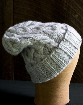 Traveling Cable Hat | The Purl Bee