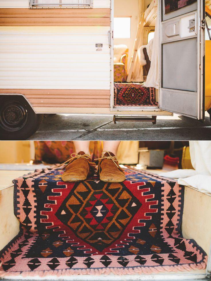 Our Vintage Bohemian Camper // Chevy El Dorado Glamping // Los Angeles, CA at The Shalom Imaginative || Los Angeles & Destination Wedding & Family Photography