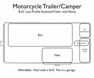 motorcycle tent trailers - Google Search