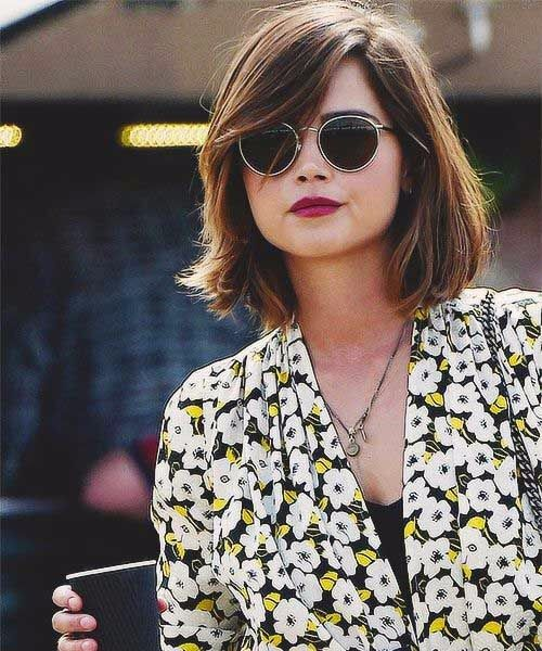Medium Haircuts For Women With Round Faces Short To Hairstyle