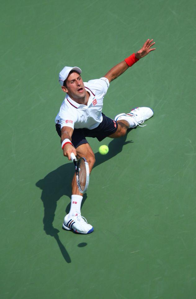 Novak Djokovic during the Men's Semi-Finals of the 2014 US OPEN