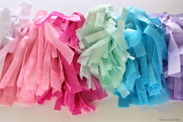 Como hacer borlas de papel!   Aprender manualidades es facilisimo.com