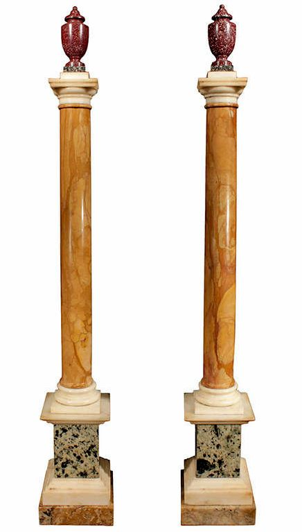17 best images about sienna marble on pinterest king for Decorative square columns