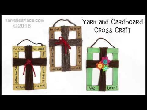 Folding Craft Stick or Popsicle Stick Canvas Craft -  View it and Do it Craft! #8 - YouTube