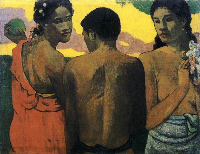 Τρεις από την Ταϊτή (1899) Εθνική Πινακοθήκη Σκωτίας στο Εδιμβούργο