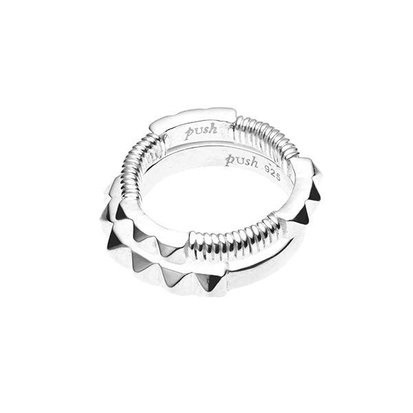 PUSHMATAAHA // Sun Gaze Ring Set in 925 Sterling Silver