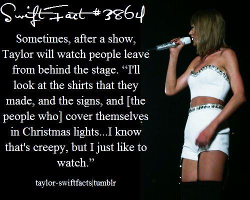 Taylor swift fact ❤