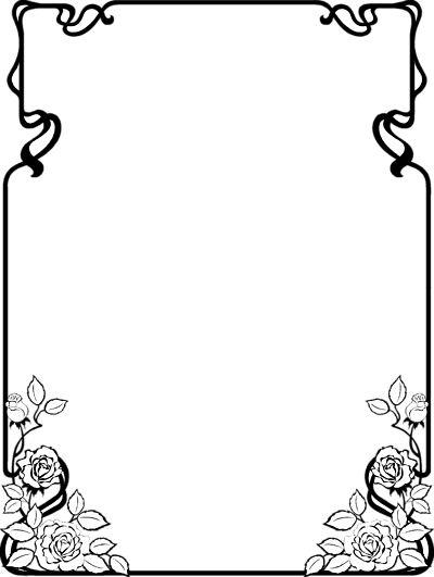 Clip Art Page Borders Free Black And White Clip Art