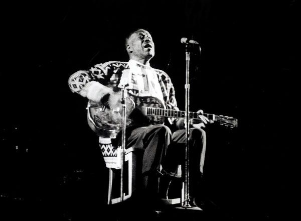 Son House; photographer: Keith Perry