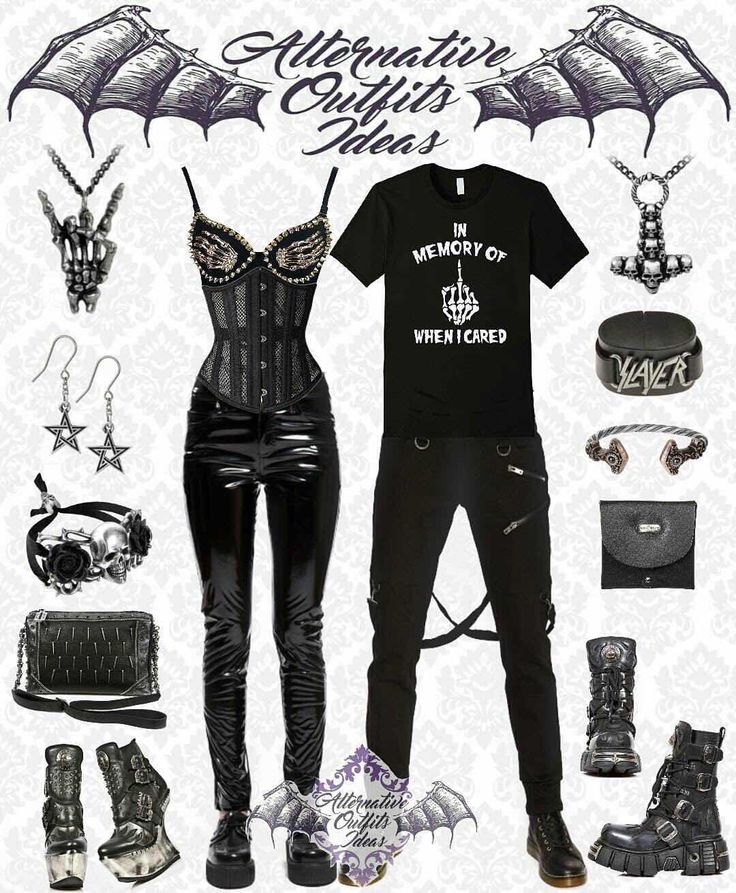 "Couples outfit :-) ——————————————————————————–– Our Website: www.newrockaustralia.com  Outfit Creator Instagram: @alternative.outfits.ideas (Save 10% off any order at checkout with her coupon code ""AOI"") ——————————————————————————–– #newrockaustralia #newrockboots #newrock #allnewrock #newrockboots #newrocks #outfitoftheday #outfit #outfitideas #outfits #outfitinspiration #outfitpost #gothicoutfit #alternativefashion #alternativestyle #alternative #boots #boot #wicked #leathergoods #clothing…"