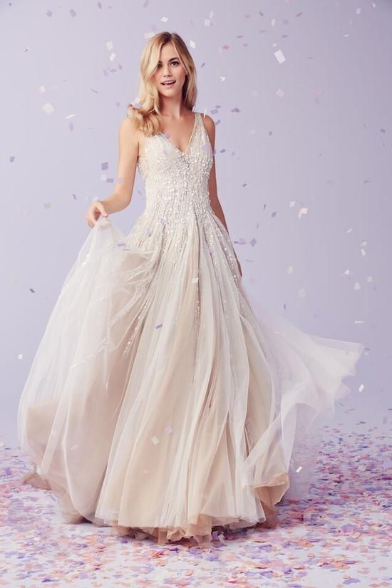 Kleinfeld bridal behind the seams blog new kleinfeld for Kleinfeld wedding dresses with sleeves