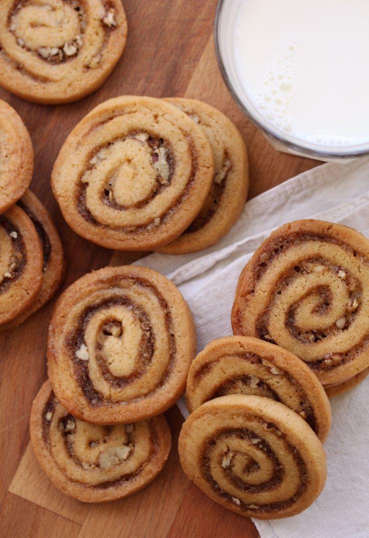 cinnamon bun crunch icebox cookies 5