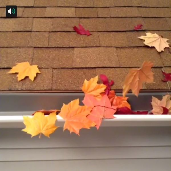 Tired of cleaning debris from your gutters? Try using gutter guards. #Vine #lowesfixinsix