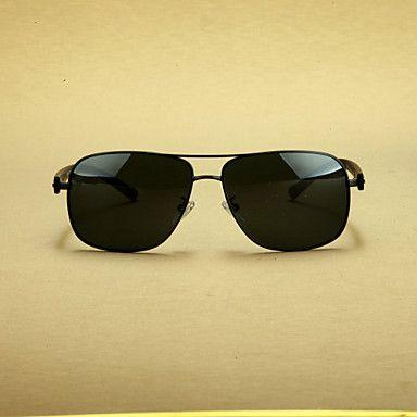 aleación aviador gafas de sol graduadas retro personalizadas de los hombres polarizados – MXN $ 236.57