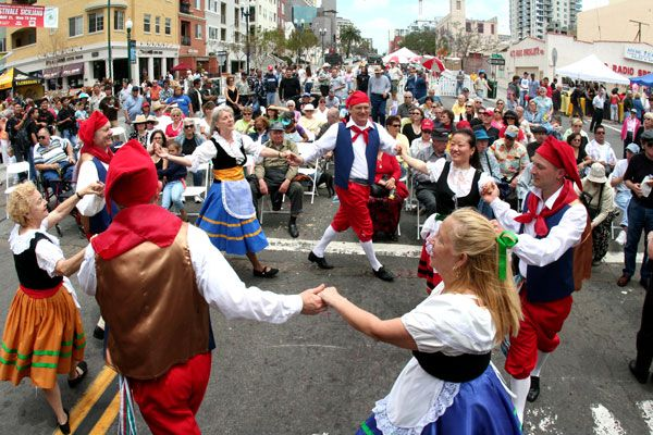 Tarantella is a italian folk dance it is a very fast and for Italian culture