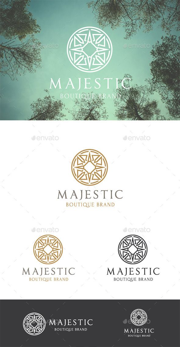 Majestic Brand Logo Template #design Download: http://graphicriver.net/item/majestic-brand/10023178?ref=ksioks