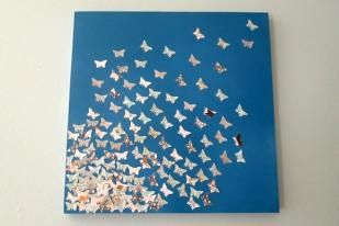 DIY Canvas Art Tutorial maybe with birds instead