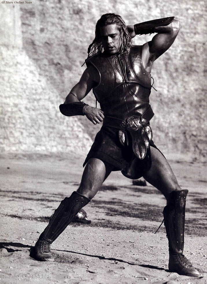 Brad Pitt as Achilles, Troy (2004)