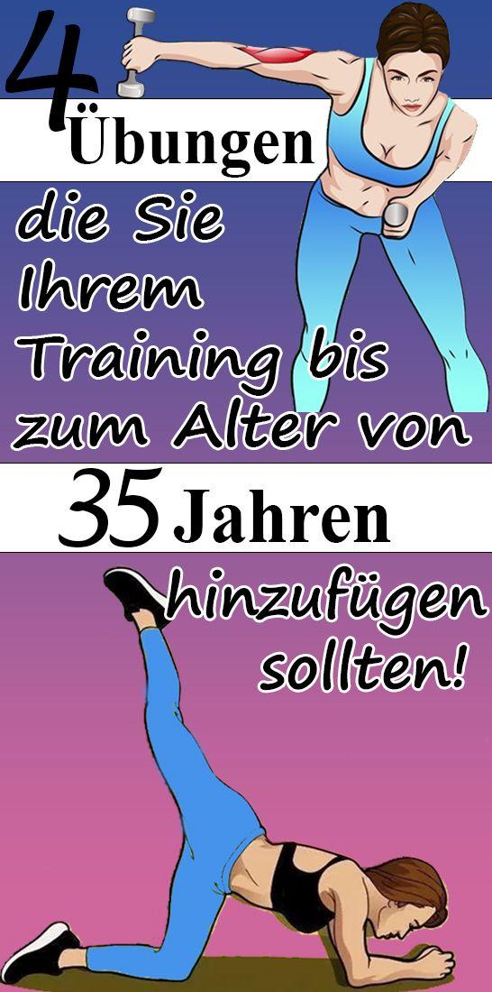 4 Übungen, die Sie Ihrem Training bis zum Alter von 35 Jahren hinzufügen sollten