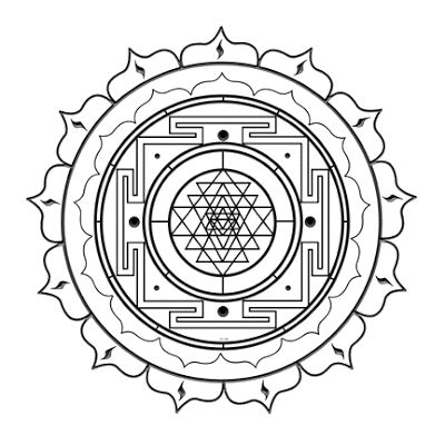 331 best YANTRA images on Pinterest | Sacred geometry, Flower of ...
