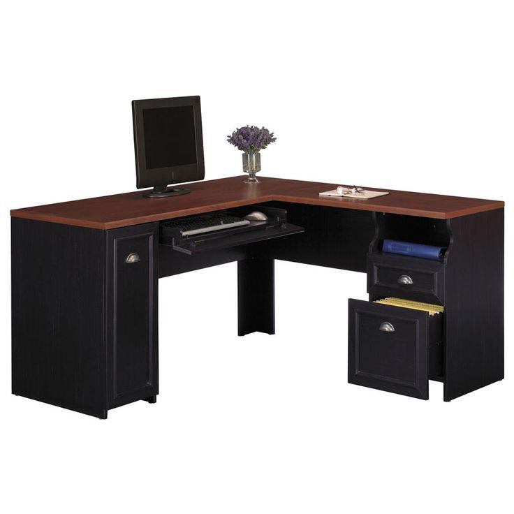 How to Build L-Shaped Desks - http://www.sheilahylton.