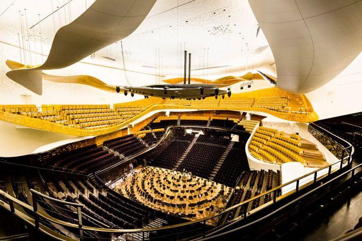 Prix du plâtre Saint Gobain Gypsum - Grand Prix Nouvel Philarmonie   #design #architecture #prix #concours #plâtre #intérieur