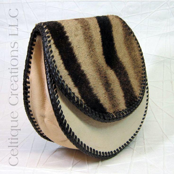 Five Leather Handmade Sporran Cream Semi-Dress Kilt Accessory - product images  of