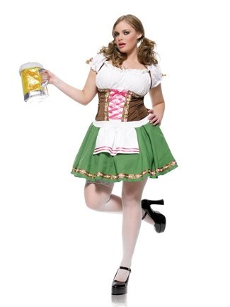 Plus Size German Beer Girl Costume Oktoberfest « Clothing Impulse German  beer in New Zealand ,