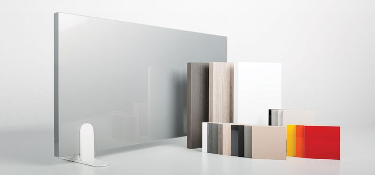 Solberg Industries - Surface Collection; dry erase certified; uses a proprietary multi-layered acrylic material bonded to a premium MDF core; high chemical stain resistance and scratch resistant