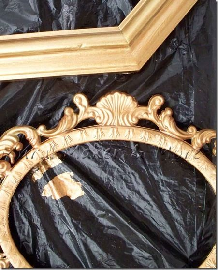 Antiqued Plastering And Gold Glaze Faux Finish Wall: How To Paint A Faux Antique Gold Finish