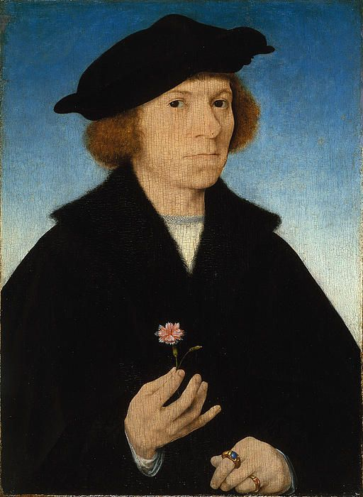 Self-portrait, by Joos van Cleve (Dutch, 1485-1540)