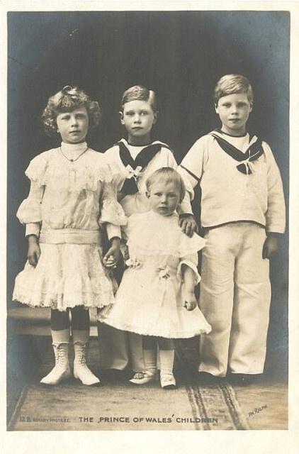 Kinder von König George V. und Königin Mary von England
