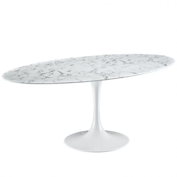 """Haas 78"""" Faux Marble Dining Table $1299 this table is sold out at the moment"""