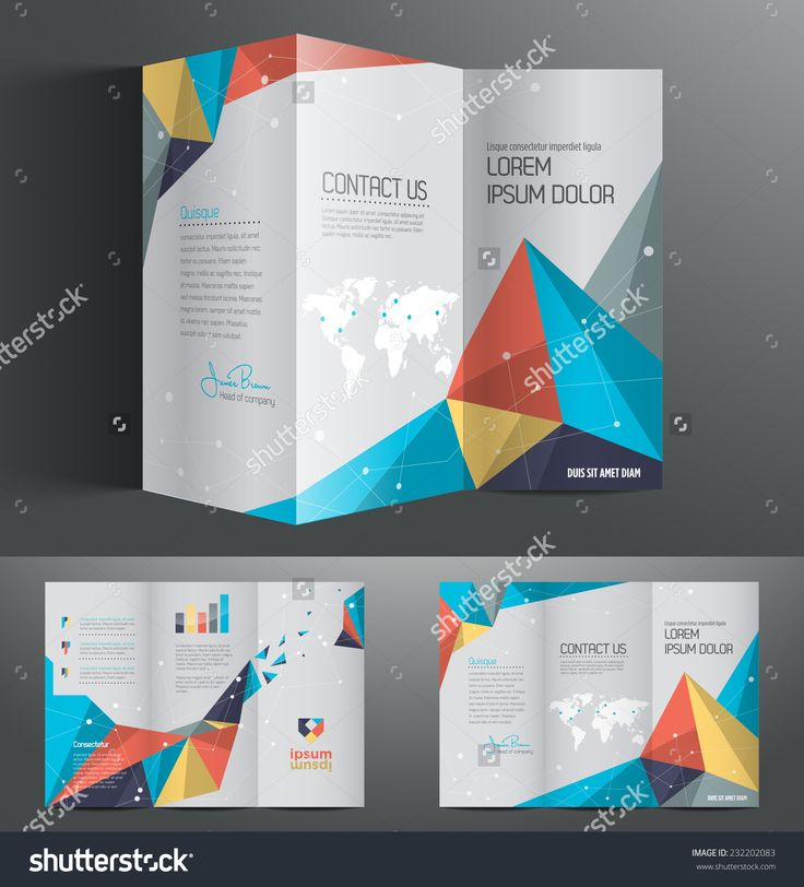 Best Brochure Ideas Images On   Brochures Page