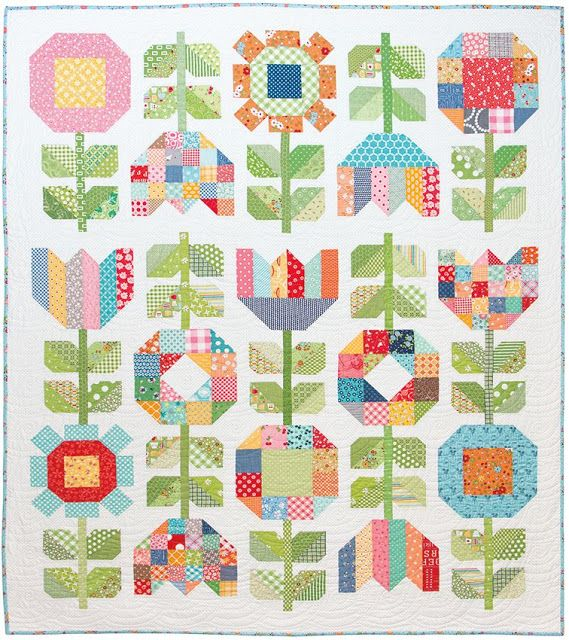 Bee In My Bonnet: Farm Girl Friday - Week 19 - New Farm Girl Vintage Flowers Pattern!!!