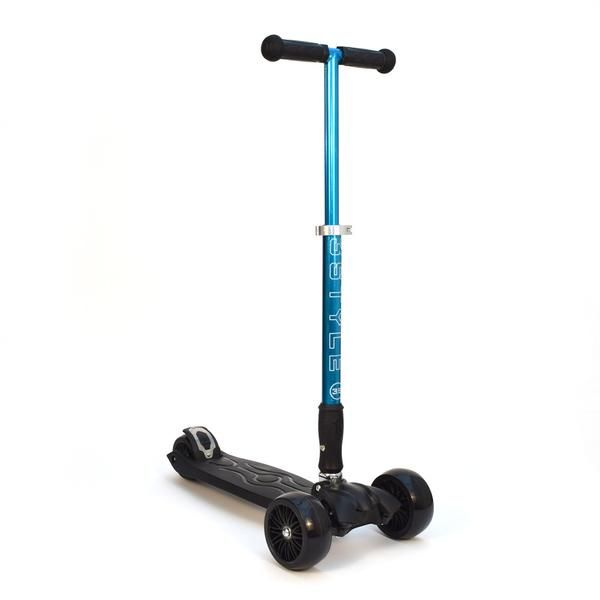 """RGS-3 Blue 3 Wheel Kick Scooter with 2"""" Heavy Duty Wheels 
