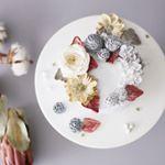 플라워케이크 클래스&주문제작 🇰🇷KOREA Buttercream Flowercake & class ✉️pandasm1122@naver.com Kakaotalk_asm1122 Line ID_asm1122cake