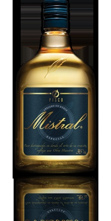 Pisco Mistral a Spirt from Chile