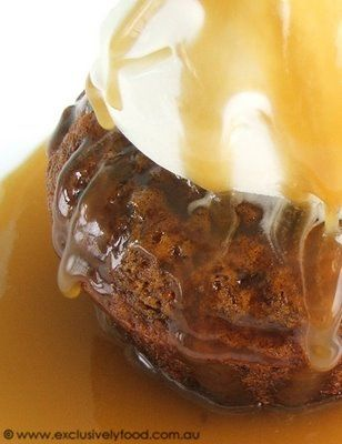 Exclusively Food: Individual Sticky Date Puddings Recipe. Made these today, they are sensational!