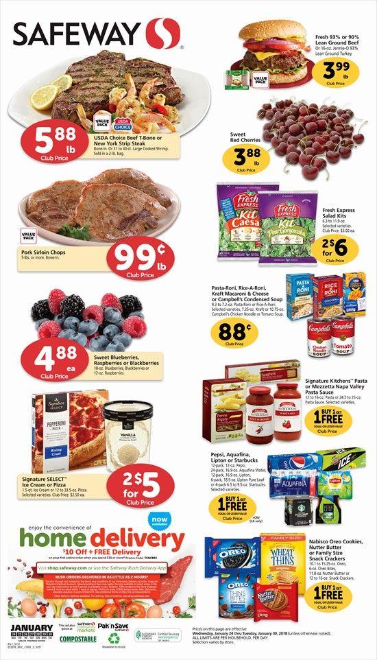Safeway Weekly Ad Flyer 02/26/20 – 03/03/20   Pork sirloin