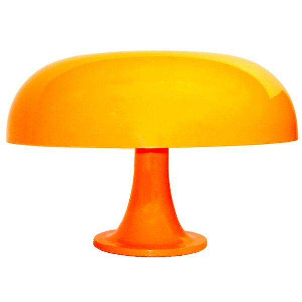 Lámpara Nes  naranja. DDiseño.