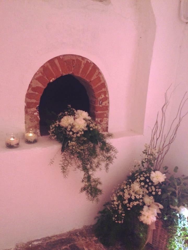 il Rivellino con le erbe aromatiche #laPila #peonies #aromaticherbs #candlelight