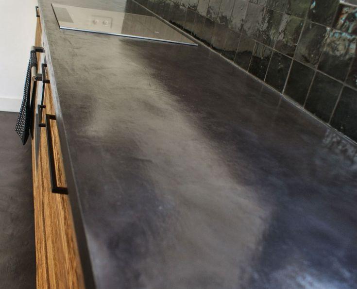 123 best Béton ciré images on Pinterest Cement, Concrete staining - peinture exterieure sol beton